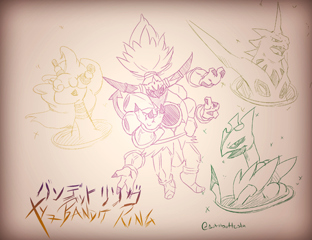 Extras - XY7 Bandit Ring Sketch by AutobotTesla