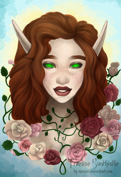 Commission: Traelise Sunthistle by Mimssi