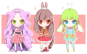Lolimal Adopts Chibi Set - CLOSED by Neko-Rina
