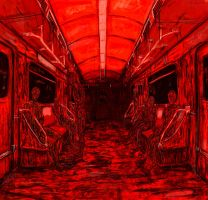 red metro. by Amne-chan