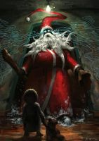 Santa Is Here by Vablo