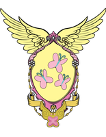 Fluttershy's Coat of Arms by Lord-Giampietro