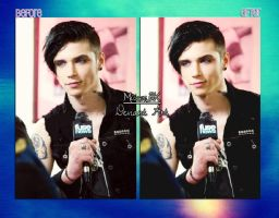 Action - Andy Biersack Fuse News by MisserBK