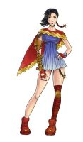 Wonder Woman Final Fantasy by The-Mirrorball-Man