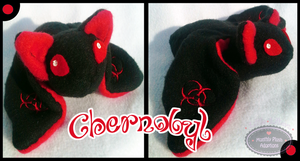 Little Litters - Chernobyl - Plush by Sparkle-And-Sunshine