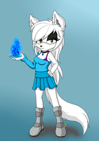 Jade The Arctic Wolf by X-SoniaTyler-X