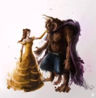 Beauty and the Beast by JohnathanSung