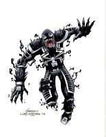 Agent Venom Colors by lukesparrow