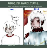 Draw Me Again-Thomas Slayer by DemonChroniclesOwner