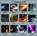 2012 Summary of Art by Urnam-BOT