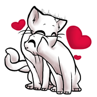 Free Valentines Kitty Base - Matespritship by Bloodtaintedsoul