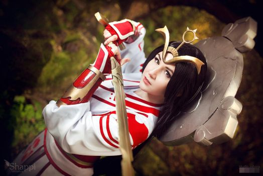 Shining Heavens Amaterasu - SMITE by Shappi