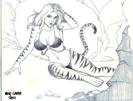 Tigra (#2) by Boy Lara by VMIFerrari