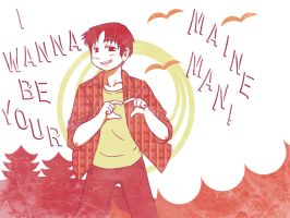 ME: wanna be your maine man by Kaede-chama