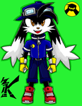 Klonoa In Sonic Free Riders by emichaca