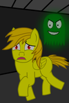 Aurum running away from Ghost by Imp344
