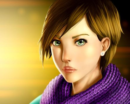 Face process test by MarzoRamon