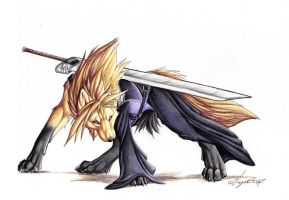 cloud wolf by emolana