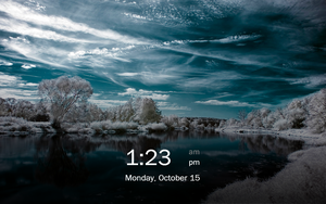 Tablet Lock Screen Concept 3 by gifteddeviant