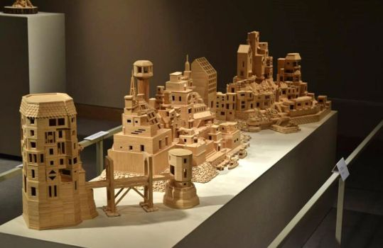 Bob's Toothpick City - by Bob Morehead by BobsToothpickCityArt