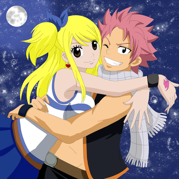 Natsu y Lucy 2.0 by Palomeitor