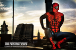 Watchful Spider - Spiderman Cosplay by theportraitdude