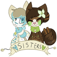 The Sugar Sisters by PIXELSHlT