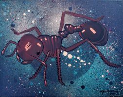 Fire Ant by darcydoll