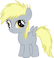 Young Derpy by AnimusVox