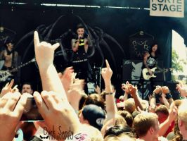 [Warped '13] Andy, Ashley and Jake by DarkSanity232