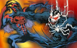 SpiderMan 2099 by TheLotusClown