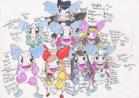 Mr Mime Clubhouse Cast by RussellMimeLover2009