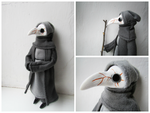 Variation on a Plague Doctor by mar-rie
