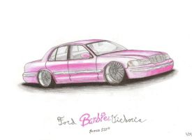 Ford Barbie Victoria by Langustyn
