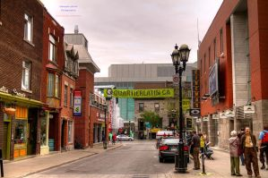 Latin District Streetview HDR by digswolf