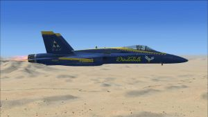 F/A-18 Hornet Wonderbolts edition by AEgwinn