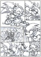 Sonic and Amy playing 3 by ArisuAmyFan