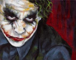 The Joker by whimsycatcher