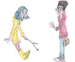 Coraline meets ParaNorman by DitaDiPolvere