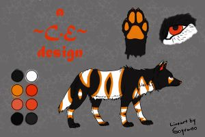 FREE adoptable 'Halloween Style' :CLOSED: by CloudEclipse