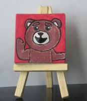 Ted on a mini canvas by Barricade9-1-1