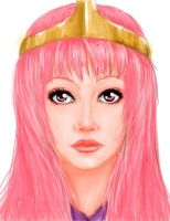 Princess Bubblegum fanart by TheTeacupKitten