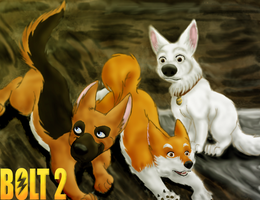 """Bolt 2"" Poster by MewIchigoZoey"