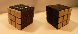 Textured rubiks cube by stick1981