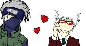 Kakashi and Gin by daushond