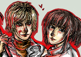 My Survival Horror OTP by jesussuperstar