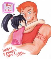 Father's Day: Roy + Lian by SLiDER-chan