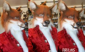 Red Fox w/Makeup by Magpieb0nes