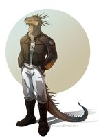 Dan the Iguana by Dragibuz
