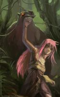 The Jungle was Always Nice, Then Came Guu by bloodrizer